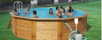 Dřevěné Bazény Toi Nativa