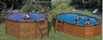 Dřevěné Bazény Gre Island